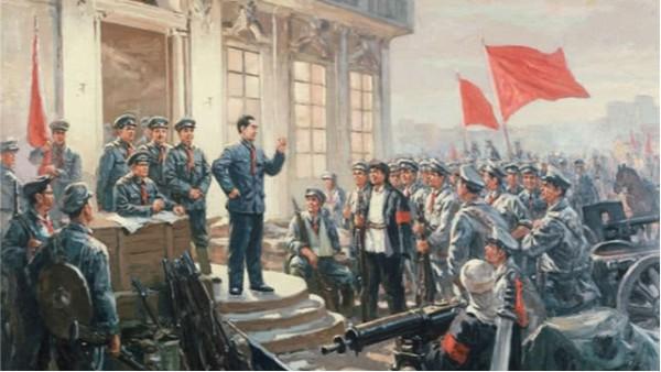 中��人民解放�建�92周年,�俨��C械�橹��解∞放�打CALL
