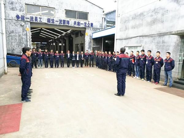 胜昌机械生产团队