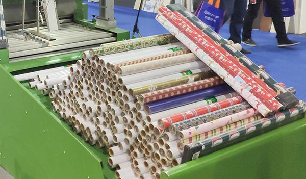 复卷机-纸管储存