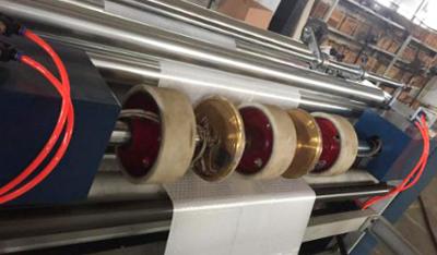 制袋机-辅助后续对折加热高温压破轮