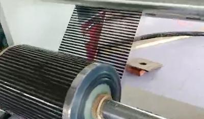 电热膜印刷机-原材料放卷