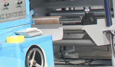 印刷机-收卷机构