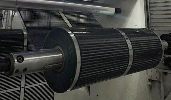 电热膜印刷机-收卷