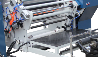 纸张高速分切机-排废装置