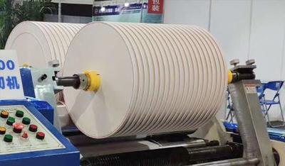 纸张高速分切机-纠偏放卷