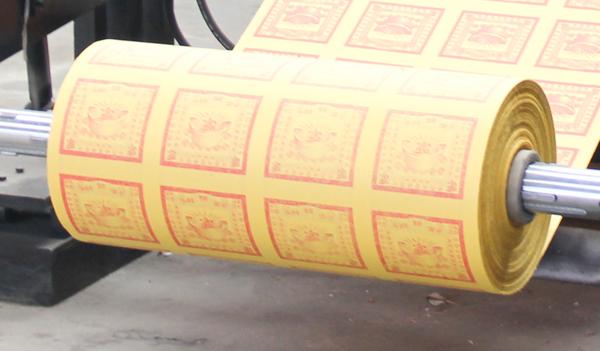 佛教用品烫金机-过度牵引
